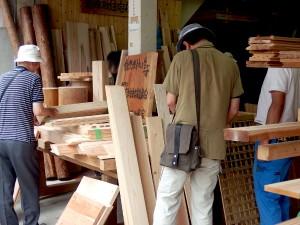 国産材住宅推進協会のイベント「ちっちゃな木材市」in協会